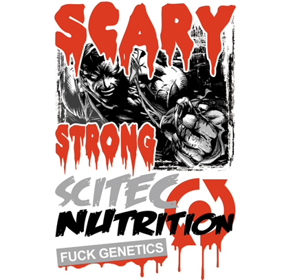 scary strong