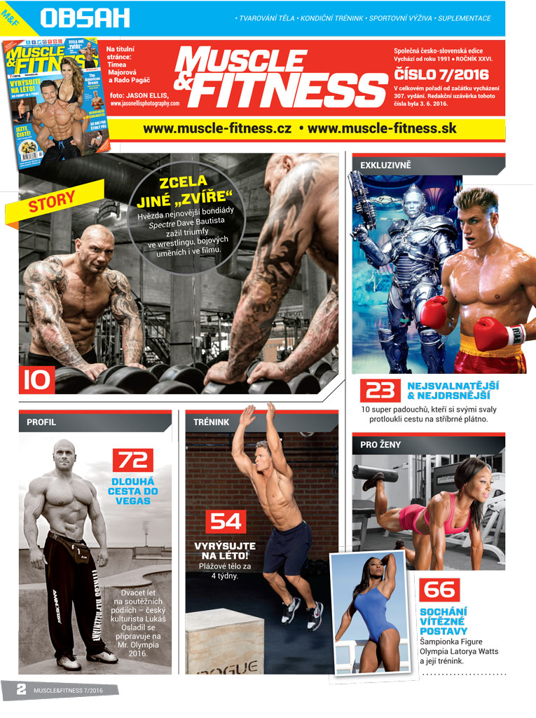 MUSCLE FITNESS 07 2016 2