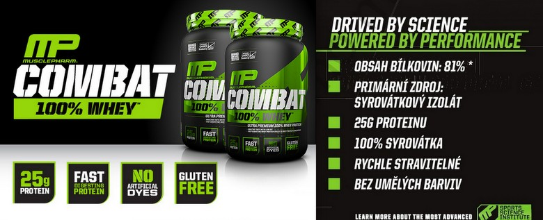 musclepharm combat 100 whey protein