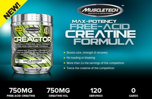 Muscletech Creactor Creatine