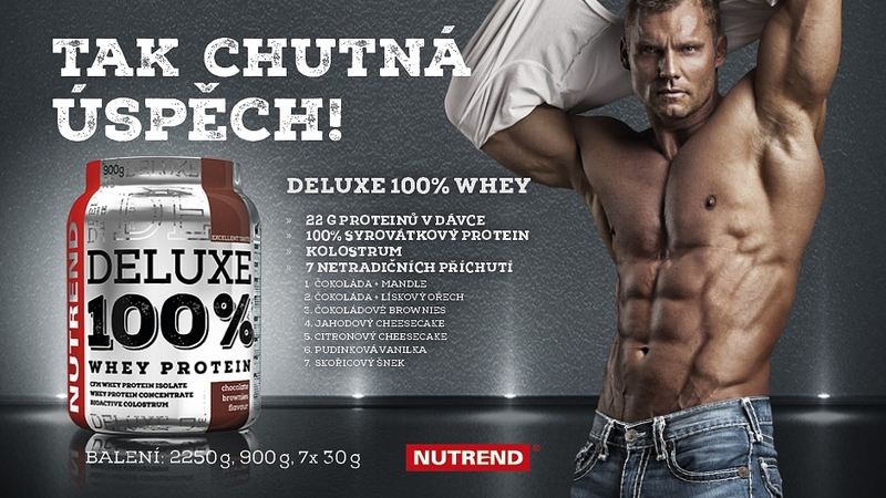 NUTREND Deluxe 100 proteiN-AKCE
