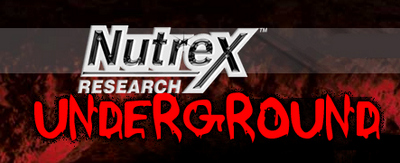 Nutrex black-underground