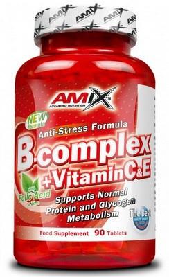 Amix B-Complex + Vitamin C, E 90 tablet