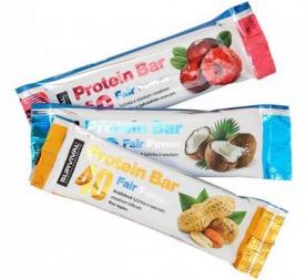 survival Protein Bar Fair Power® 40 g - zahradní ovoce PROŠLÉ DMT