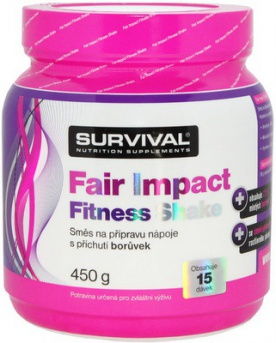Survival Fair Impact Fitness Shake 450 g