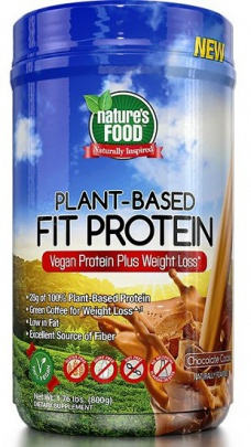 Nature´s Food Plant-Based Fit Protein 800 g PROŠLÉ DMT
