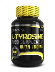 BiotechUSA L-Tyrosine - 100 Kapslí
