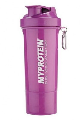 MyProtein šejkr Smartshake ™ Slim Shaker 400 ml Purple
