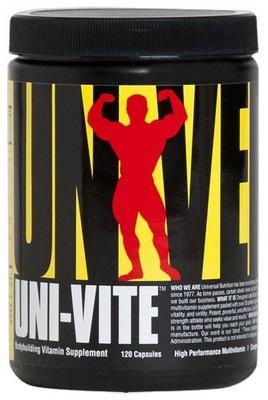 Universal Nutrition Uni-Vite 120 kapslí PROŠLÉ DMT