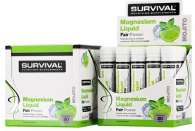 survival Magnesium Liquid Fair Power® - 20x25 ml