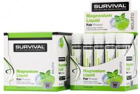 Survival Magnesium Liquid Fair Power® PROŠLÉ DMT
