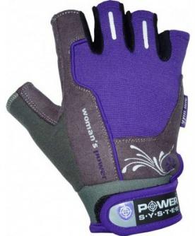 Power System rukavice Womans Power - fialová DOPRODEJ