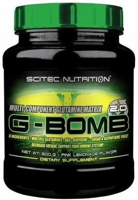 Scitec G-Bomb 2.0 500g - pomeranč - VÝPRODEJ