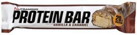 Nutramino Protein bar Crispy 64 g Vanilka / Karamel PROŠLÉ DMT