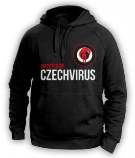 Czech Virus Mikina Unisex černá