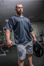 Nebbia Fitness šortky Hard 344 šedé VÝPRODEJ