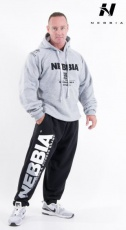 Nebbia Fitness tepláky 310 černé DOPRODEJ