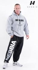 Nebbia Fitness tepláky 310 černé