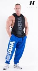 Nebbia Fitness tepláky 310 modrá DOPRODEJ
