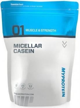 MyProtein Micellar Casein 2500 g - vanilka VÝPRODEJ (POŠK.OBAL)