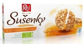 REJ Celozrnné žitné sušenky 6 x 20 g