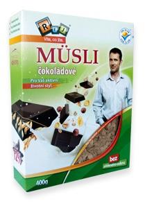 REJ Müsli s čokoládou 400g