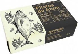 Aveiro Filety z tuňáka v olivovém oleji BIO 120g
