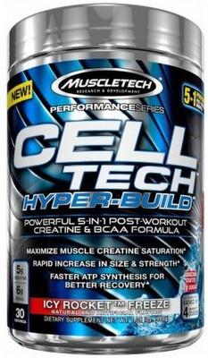 MuscleTech Cell-Tech Hyper-Build 486 g