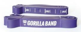 GORILLA Power Band - posilovací guma fialová