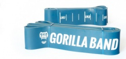 GORILLA Power Band - posilovací guma modrá