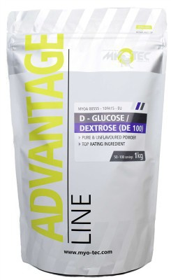 MyoTec D-glucose/Dextrose 1000 g
