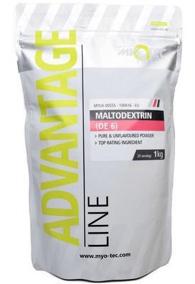MyoTec Maltodextrin (DE6) 1000g PROŠLÉ DMT