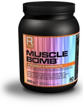 Reflex Muscle Bomb 600 g - black cherry PROŠLÉ DMT