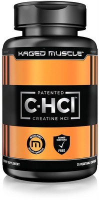 Kaged Muscle Creatine HCL (patentovaný kreatin hydrochlorid C-HCl) 75 kapslí