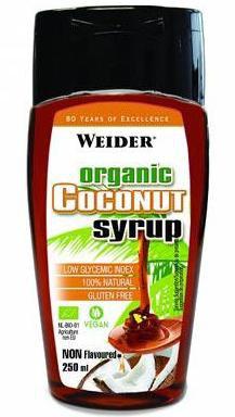 Weider Organický kokosový syrup 250 ml