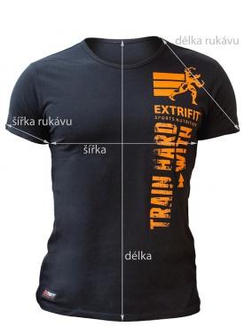 Extrifit tričko černé Agrezz