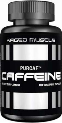 Kaged Muscle PurCaf™ Caffeine 100 kapslí