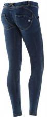 Freddy WR.UP® Jeans Tmavé s Modrými Švy
