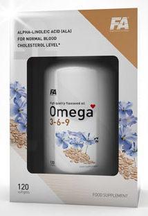 FA Omega 3-6-9 120 kapslí