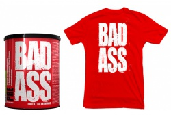 Bad ASS PRE 500 g + Bad ASS tričko ZDARMA