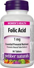 Webber Naturals Folic Acid 90 tablet