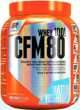 Extrifit CFM Instant Whey 80 1000 g - jahoda PROŠLÉ DMT