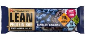Nutramino LEAN Protein Bar 60 g - malina/čokoláda VÝPRODEJ