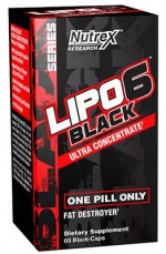 Nutrex Lipo 6 Black Ultra Concentrate 60 kapslí