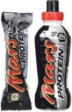 Mars Protein Bar 12 x 57g + Mars Protein Drink 376ml ZDARMA