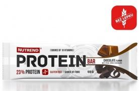 Nutrend Protein Bar 55 g - čokoláda PROŠLÉ DMT