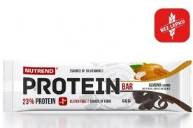 Nutrend Protein Bar 55 g - vanilka PROŠLÉ DMT