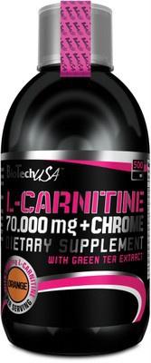 BiotechUSA L-Carnitine 70.000 mg + Chrome 500 ml