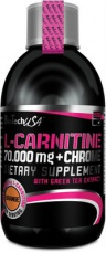BiotechUSA L-Carnitine 70.000 mg + Chrome 500 ml
