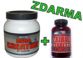 Mega Creatine 1500mg + Tribulus ZDARMA
